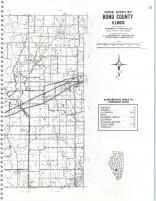 Map Image 012, Bond County 1980